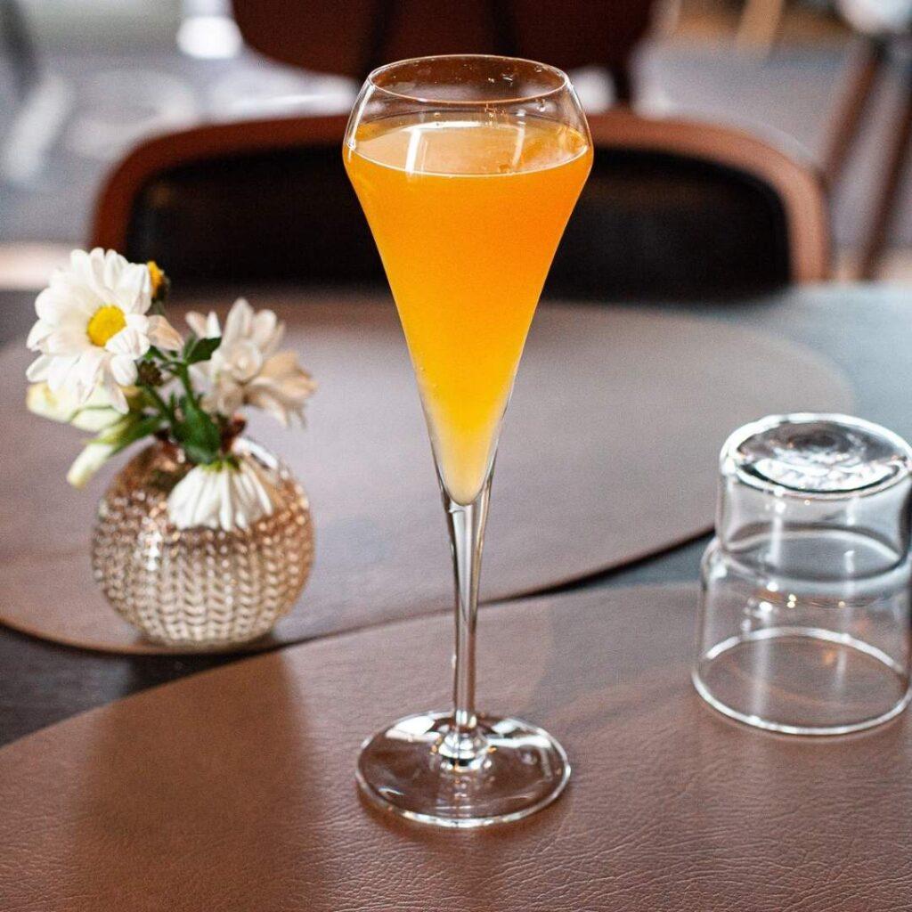 Mimosa lasillinen ravintola Frejan ystävänpäiväbrunssilla 14.2.2021