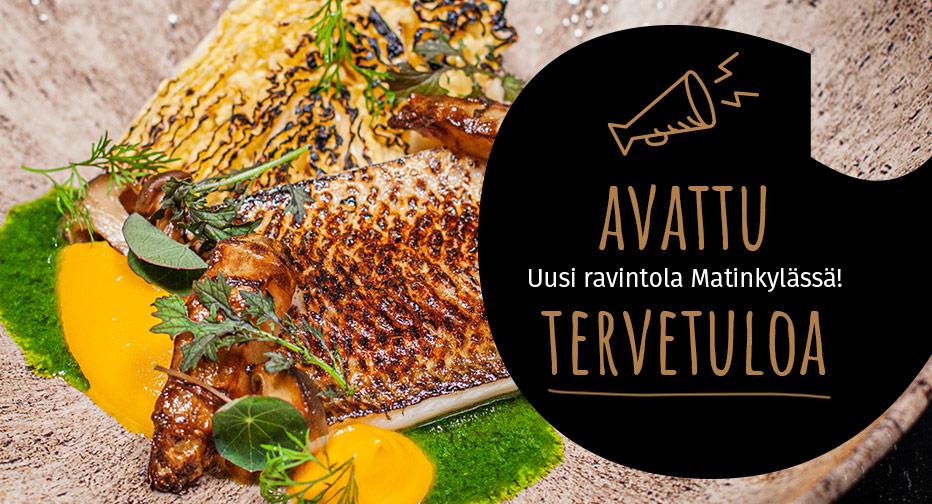 Uusi ravintola Freja aukeaa Espoon Matinkylään.